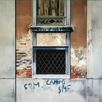 CAMPO DE VENEZIA. 1995. 150cm X 140cm. SOLD