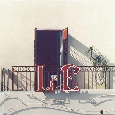 LE TELESPECTATEUR. 1989. 200cm X 150cm. SOLD