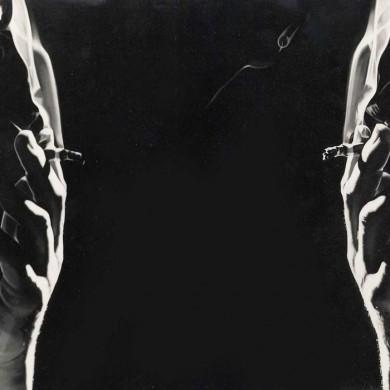 LE FUMEUR 2. 1985. 100cm X 135cm. SOLD