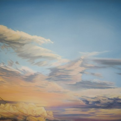 DAY'S END 2. 170cm X 105cm. $6,750.00